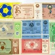 Лотерейные билеты фото