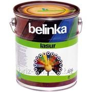 Декоративная краска-лазур Belinka Lasur 2,5 л. №72 Санториново-синий Артикул 50378 фото