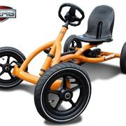 Веломобиль Berg Buddy Orange BFR (для детей 3-8 лет) фото