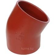 Безраструбный отвод 88 гр 100 ВЧШГ FP Preis, отвод из двух колен по 44 гр фото