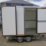Прицеп-фургон ИСТОК изотермический коммерческий, 3793М1 фото