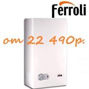 Настенный газовый двухконтурный котел Ferroli с битермическим теплообменником
