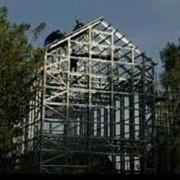 Стальные конструкции для дома фото