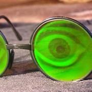 """Солнцезащитные очки с голограммами """"Глаза"""" фото"""
