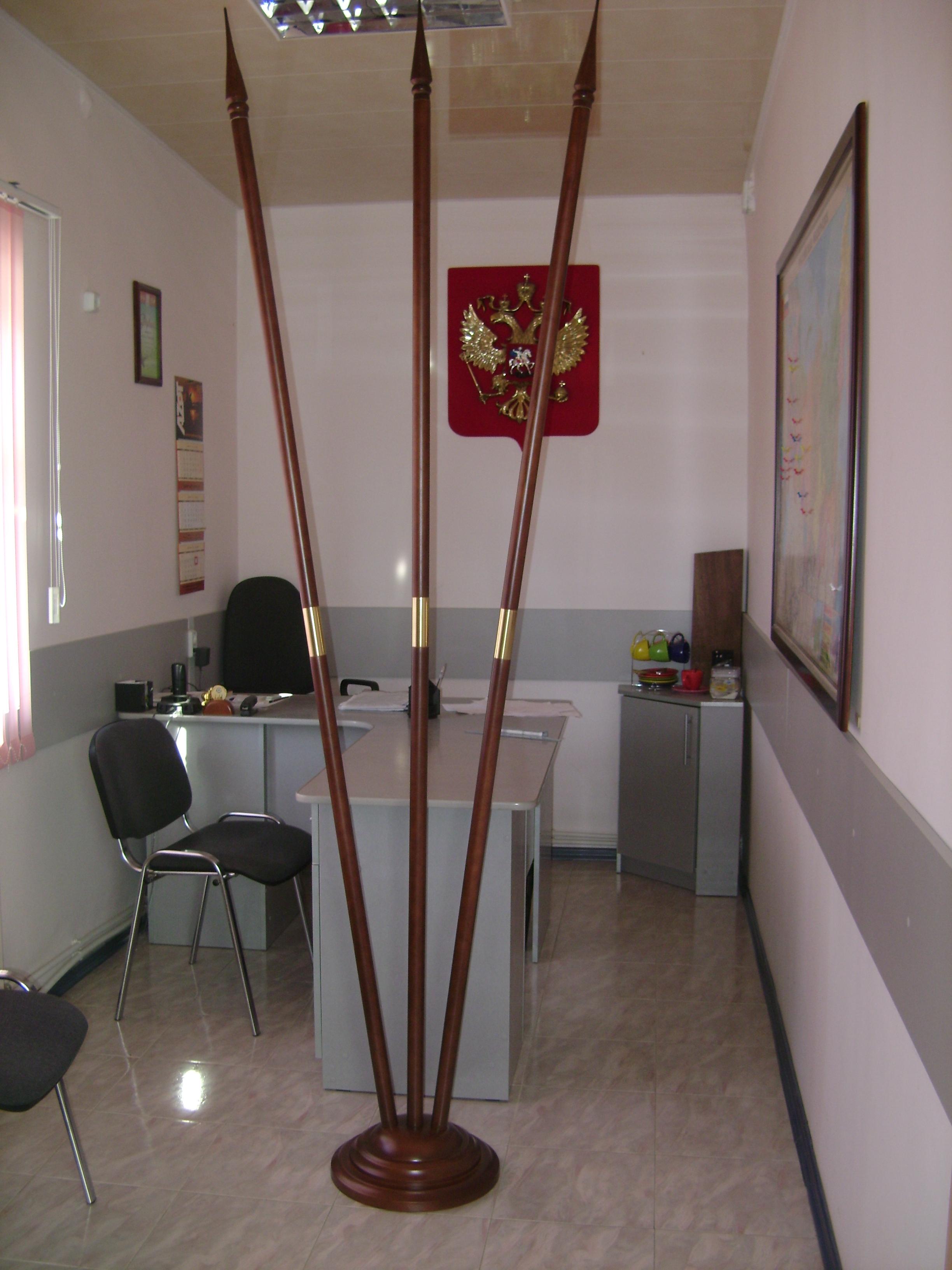 Флагшток деревянный своими руками