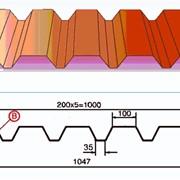 Профнастил C44x1000-A,B фото