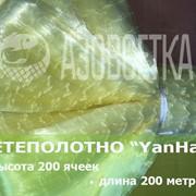 Сетевое полотно YanHai (Янхай) из монолески, ячейка 28мм, толщина 0,15мм, высота 200 ячеек фото