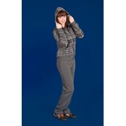 Женский утепленный спортивный костюм фото