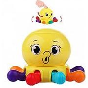 Погремушка с пищалкой Huile Toys Осьминог Y61210 фото
