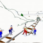 Геодезические работы для обеспечения строительства и эксплуатации объектов. фото