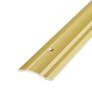 ЛУКА Порог разноуровневый ПР 02-900-02л золото анодир-е (0,9м) 39,4мм перепад 2,2-10мм фото