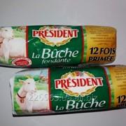 Французский сыр President la Bùche fondante фото
