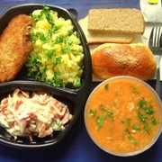 Доставка обедов в офис по Алматы, обеды на заказ фото