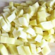 Картофель кубик фото