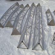 Изготовление декораций из алюминия фото