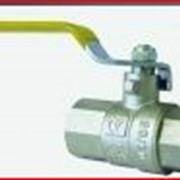 Кран шаровый газовый (фторопластовая прокладка) фото