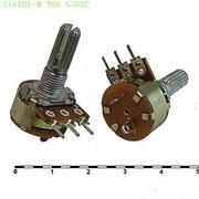 Резистор переменный S16KN1-B 500K L20KC фото