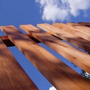 Деревянные заборы фото