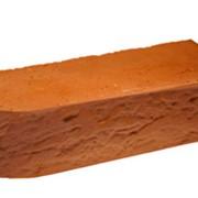 Кирпич радиусный Terca Red риф, 250*85*65 мм фото