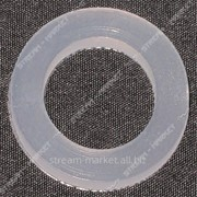 Прокладка силикон стиральная машина (24мм*15мм*2, 5мм) ( кратно 100 шт.) №433260 фото