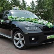 Черная БМВ Х6 на свадьбу фото