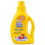Жидкое средство для стирки детской белья Ушастий нянь 750 мл фото