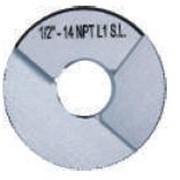 Калибр-кольцо резьбовое NPT фото