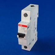 Автоматический выключатель ABB SH201-B16 1пол. фото