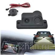 Универсальная Автомобильная камера заднего вида + датчик парковки 2 в 1 G248 86716 фото
