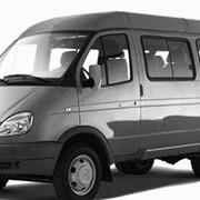 Услуги по перевозке пассажиров микроавтобусом фото