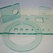 Сверление отверстий d=15-40 мм в стекле и зеркале толщиной 4-6 мм фото