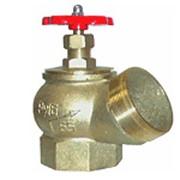Клапан КПЛ-50 угловой Ду-50 латунь, муфта/цапка фото