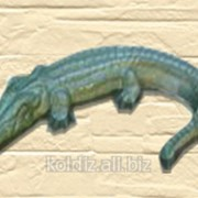 Малая архитектурная форма Крокодил 650x500x150 фото