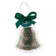 Елочная игрушка из шоколада Колокольчик Н.ШИг268.30-по989 на Новый год! фото
