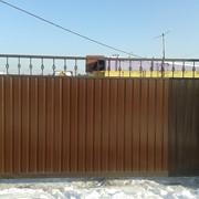 Откатные ворота 4*2м фото