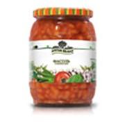 Фасоль в томатном соусе фото