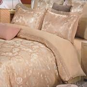 Постельное белье Жаккард с кружевом 2307 фото
