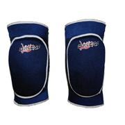 Наколенники волейбольные Dikesi, трикотажные, темно-синие, размер M фото