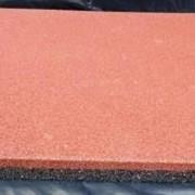 Резиновая плитка 500х500 х16 мм фото
