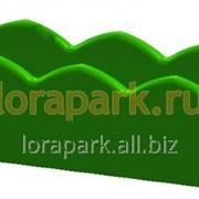 Балконный ящик, термо-чаша для ограждений и зданий, вазон для цветов уличный пластиковый lora-park 1000 фото
