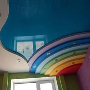 Натяжные потолки шовные фото