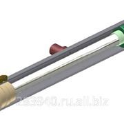 Гидроцилиндр ГЦО6-100х50х630Л (расположение бонки к оси цилиндра ?=90°) фото