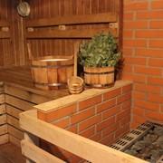 Русская баня, финская сауна фото