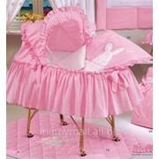 Комплект белья для люльки Aurora carrozina от Italbaby фото