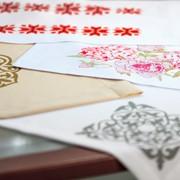 Печать и пошив салфеток, конвертов для столовых приборов фото