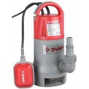 Насос ЗУБР погружной для грязной воды, корпус из нержавеющей стали, пропускная способность 200 л/мин, 550Вт фото