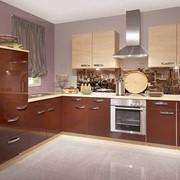 Кухонный гарнитур из двух цветов фото