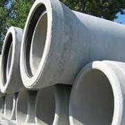 Безнапорные бетонные трубы диметром 0,4 и 0,2 м фото