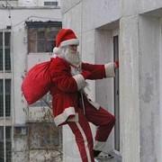 Дед Мороз в окно! Киев фото