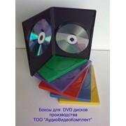 Сумки, боксы для дисков CD, DVD, DVD box 14mm цветной фото